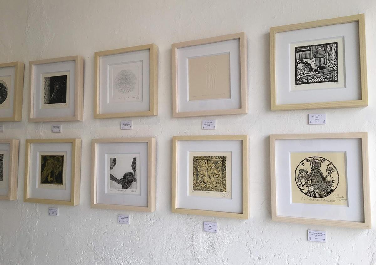写真4 入選作品 | ミニプリントオアハカ - アミリョウコ | 活版印刷研究所