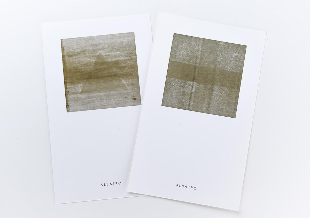 (写真18)「ゴースト印刷」のバリエーション。新しい技法の今後の展開が楽しみです。 | 印刷カフェ Print+Plantが都立大学駅にオープン、不思議な空間を覗いてきました - 生田信一(ファーインク) | 活版印刷研究所