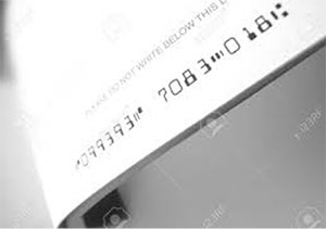 数字を磁性インキで印刷するパターン | 特殊インキ 示温インキと磁性インキ - 三星インキ株式会社 | 活版印刷研究所