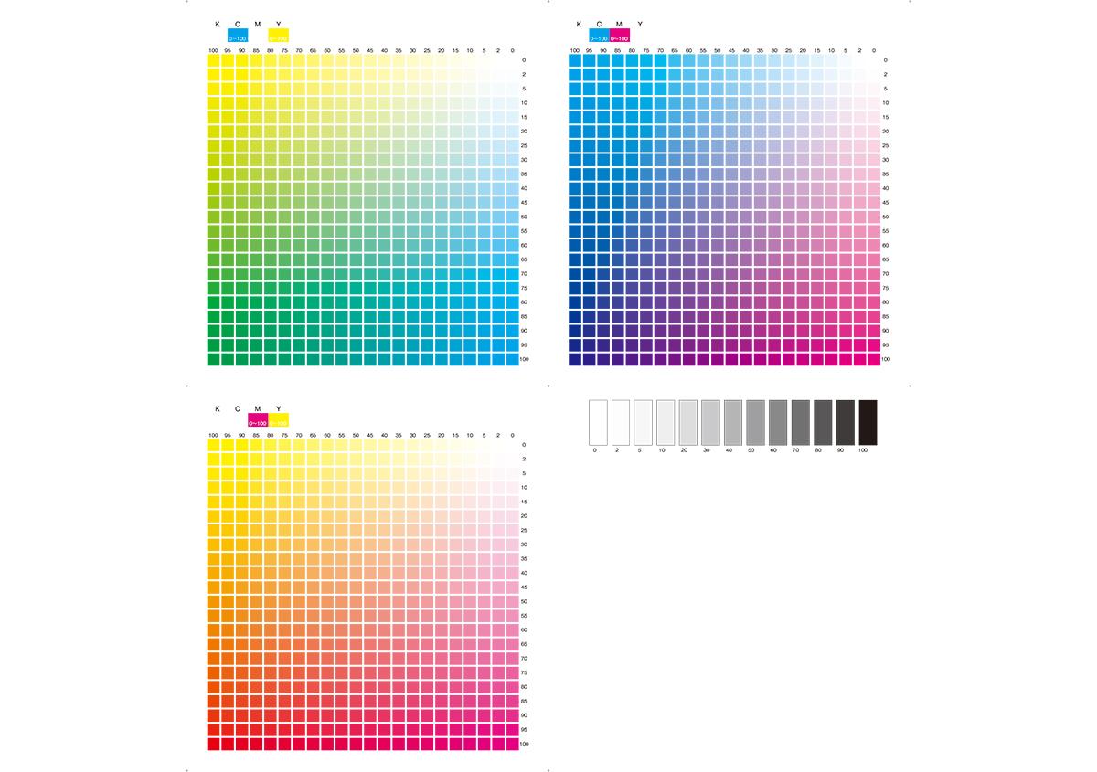 (写真4) | プロセスカラー印刷 - (株)和光 | 活版印刷研究所