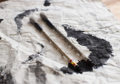 奈良筆 雪椿 | 旅と筆 - 白石奈都子 | 活版印刷研究所