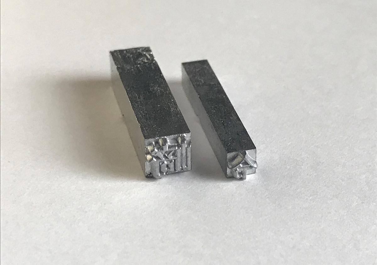 (写真27) | 築地活字で活字鋳造の現場を見学しました - 生田信一(ファーインク) | 活版印刷研究所