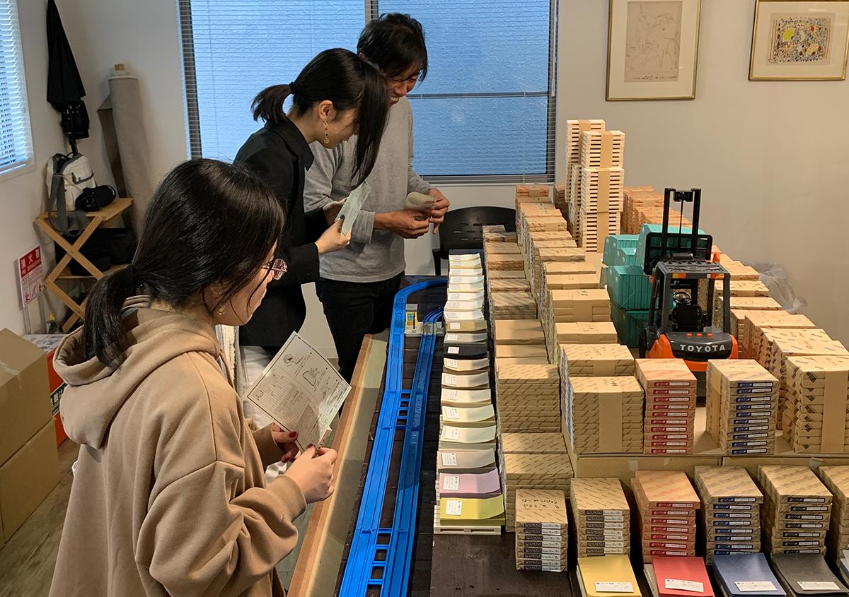 写真7 | 心はずむ紙の文化祭「KYOTO PAPER BAR」 バックス画材KAMIKOBO(紙工房) - 白須美紀 | 活版印刷研究所
