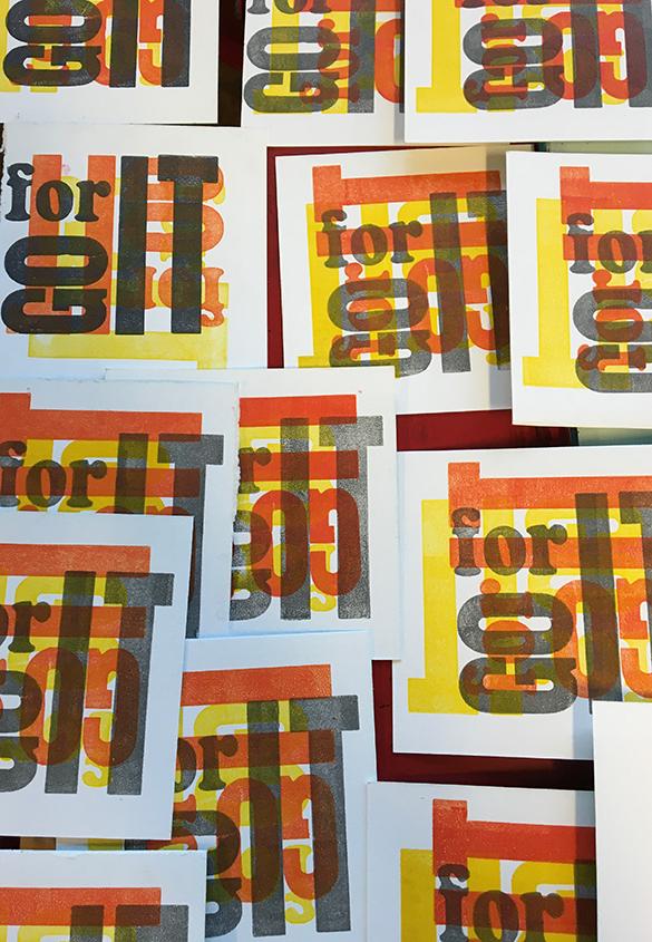(写真12) | ポスター!壁!広告! - あみりょうこ | 活版印刷研究所