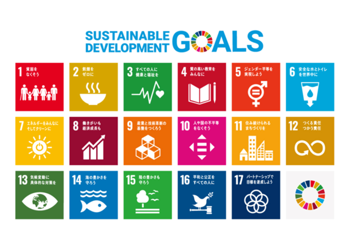 SDGs ロゴ | 環境と紙(その3) - 平和紙業株式会社 | 活版印刷研究所
