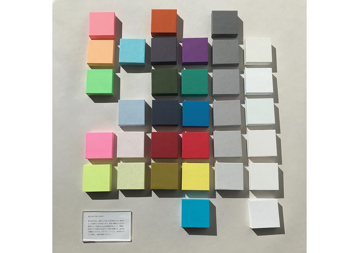 (写真11) | 「Paper Parade Lab. 02 COLOR」展に行ってきました - 生田信一(ファーインク) | 活版印刷研究所