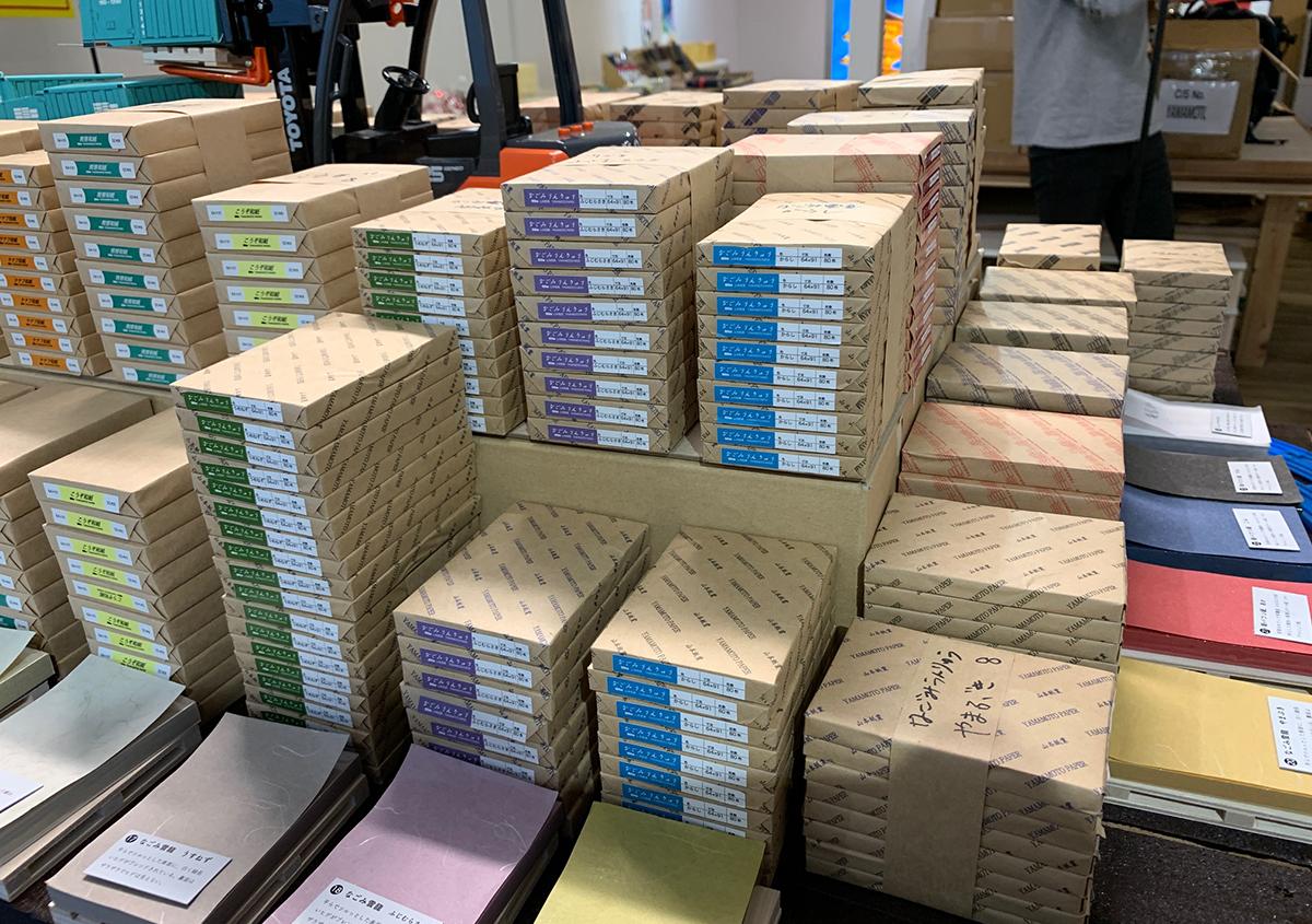 写真2 | 「日本一面白い紙屋さん」を目指して 山本紙業 - 白須美紀 | 活版印刷研究所