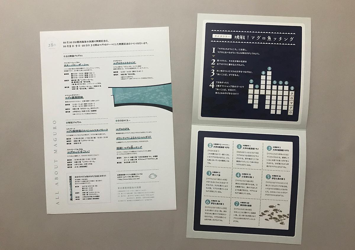 (写真14) | 葛西臨海水族園 開園30周年記念イベントで作られた 『特大!クロマグロ194mmシール』 - 生田信一(ファーインク) | 活版印刷研究所