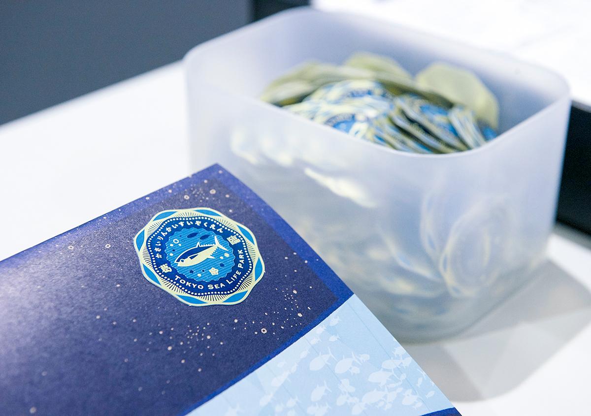 (写真17) | 葛西臨海水族園 開園30周年記念イベントで作られた 『特大!クロマグロ194mmシール』 - 生田信一(ファーインク) | 活版印刷研究所
