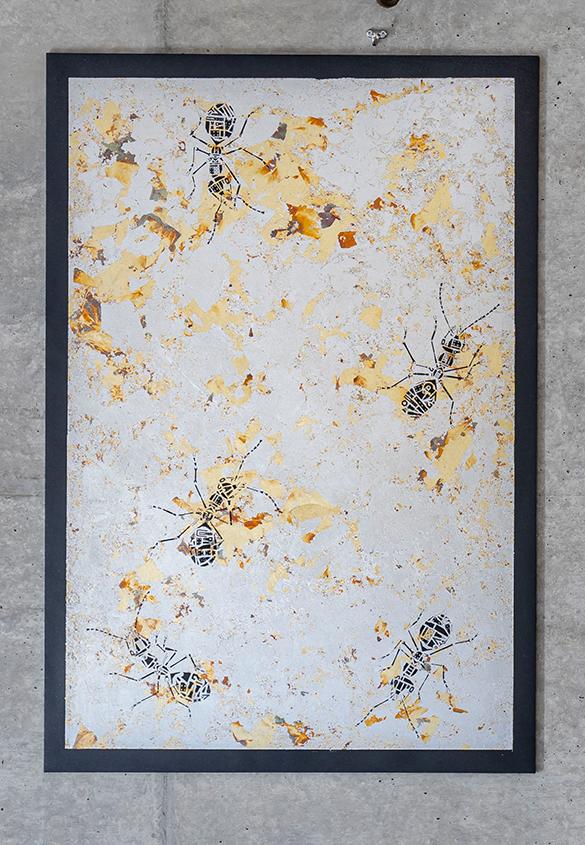 (写真10) | 『AOYAMA CREATORS STOCK 16 内田喜基展 Kanamono Art Exhibition at Takeo』に行ってきました - 生田信一(ファーインク) | 活版印刷研究所