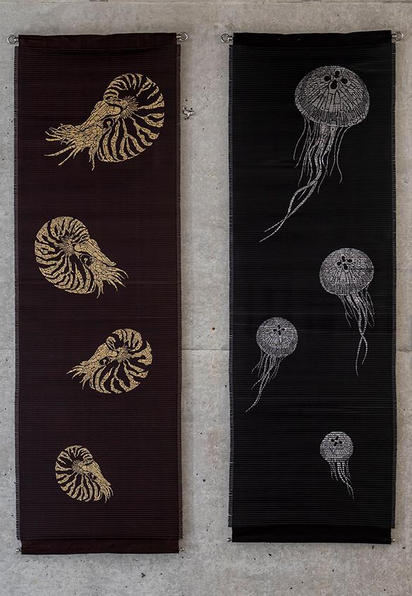 (写真8) | 『AOYAMA CREATORS STOCK 16 内田喜基展 Kanamono Art Exhibition at Takeo』に行ってきました - 生田信一(ファーインク) | 活版印刷研究所