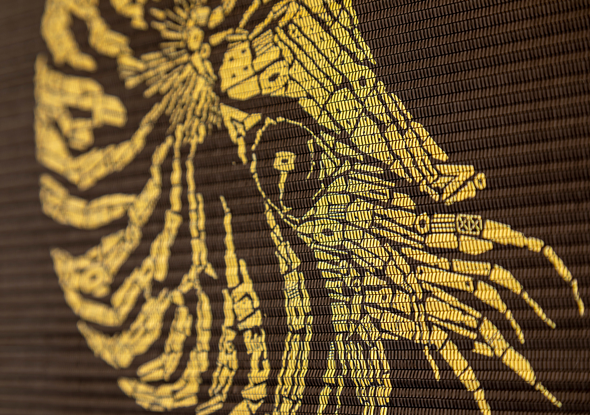 (写真9) | 『AOYAMA CREATORS STOCK 16 内田喜基展 Kanamono Art Exhibition at Takeo』に行ってきました - 生田信一(ファーインク) | 活版印刷研究所