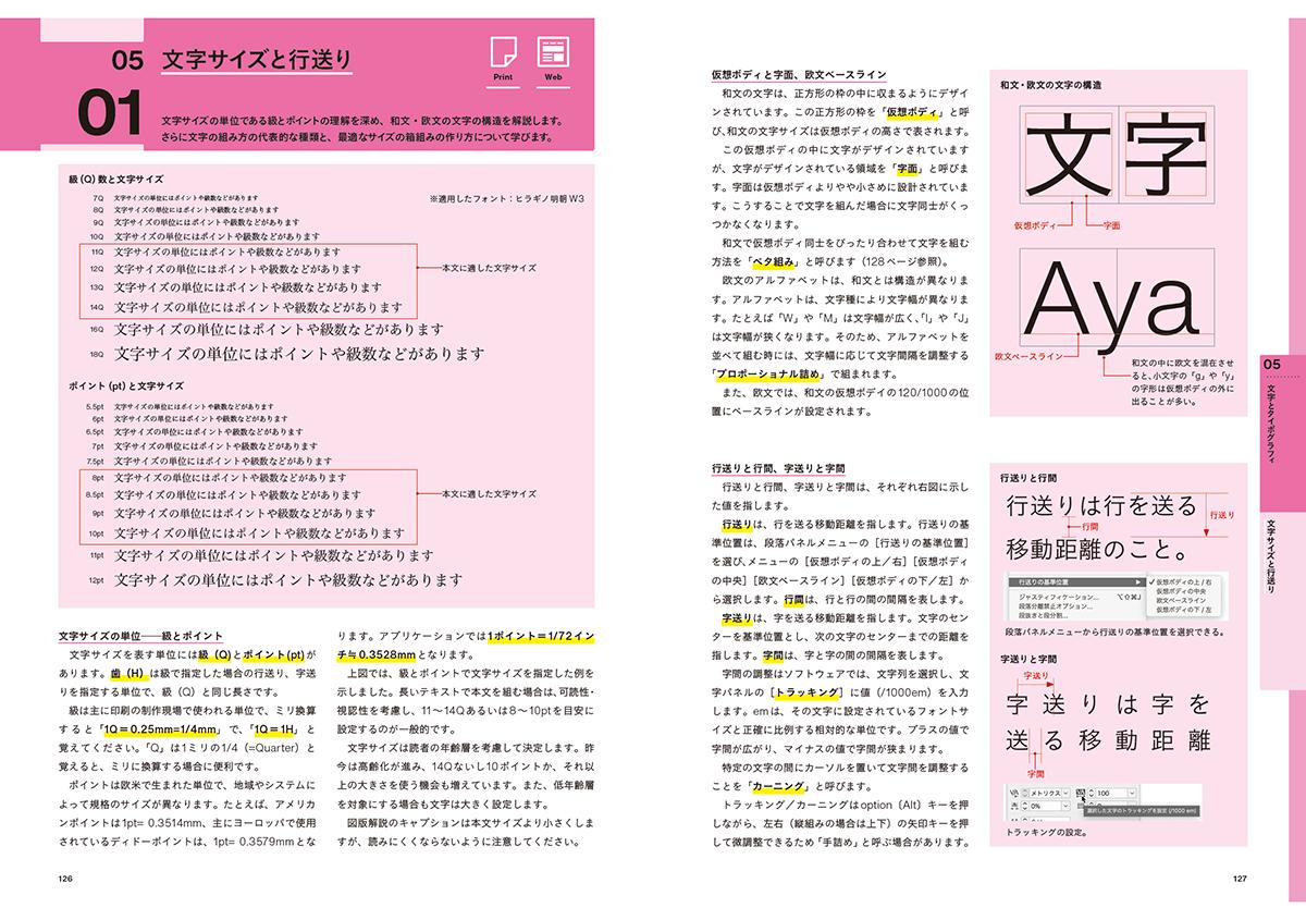5章 文字とタイポグラフィ | 書籍『印刷&WEBコンテンツ制作の基礎知識』が発売 - 生田信一(ファーインク) | 活版印刷研究所