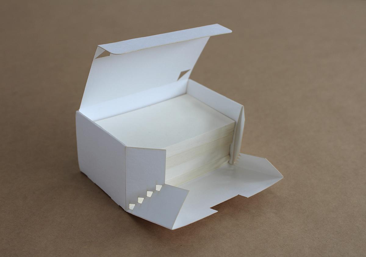 (写真9) | これは便利! 篠原紙工が考案した〝名刺箱〟 - 生田信一(ファーインク) | 活版印刷研究所