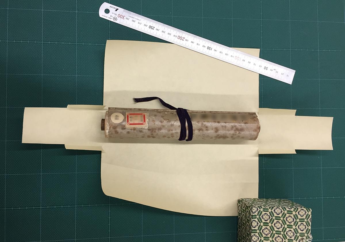 (写真2) | 私たちの保存箱研究 ~巻子本用~ - 京都大学図書館資料保存ワークショップ | 活版印刷研究所