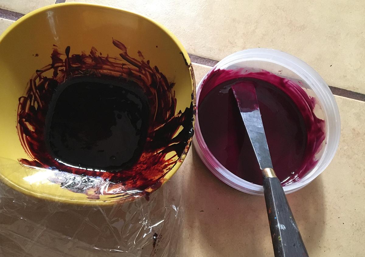 (写真7) | コチニージャをシルクスクリーンで刷りたい②、の巻き。 - あみりょうこ | 活版印刷研究所