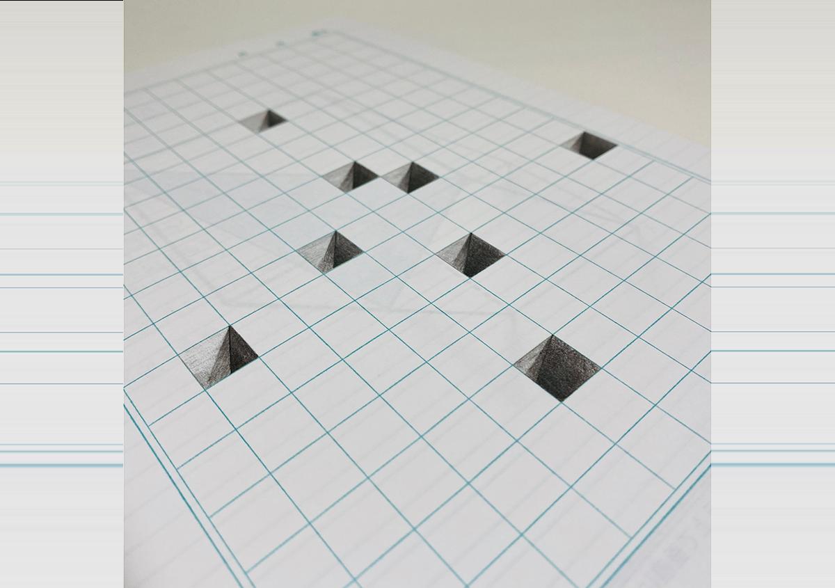 (写真15) | 錯視トリックノート「NOUTO」(改訂ベスト版)が発売 - 生田信一(ファーインク) | 活版印刷研究所