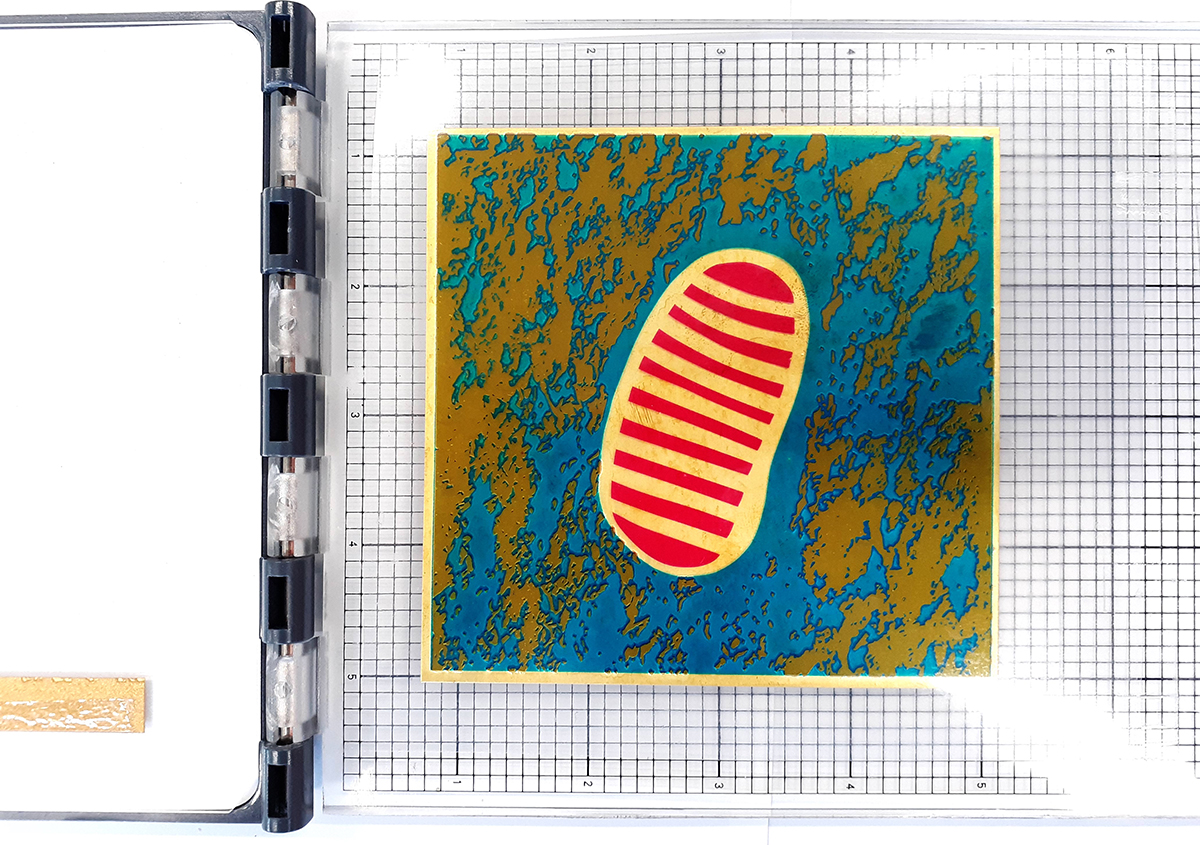 (写真2) | 足跡8 - (株)和光 | 活版印刷研究所