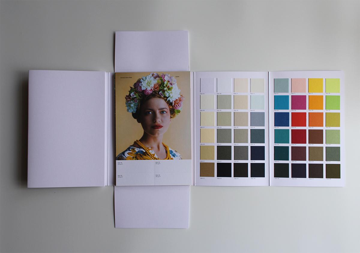 (写真3) | ファインペーパー「グムンドカラーマット-FS」の魅力 - 生田信一(ファーインク) | 活版印刷研究所