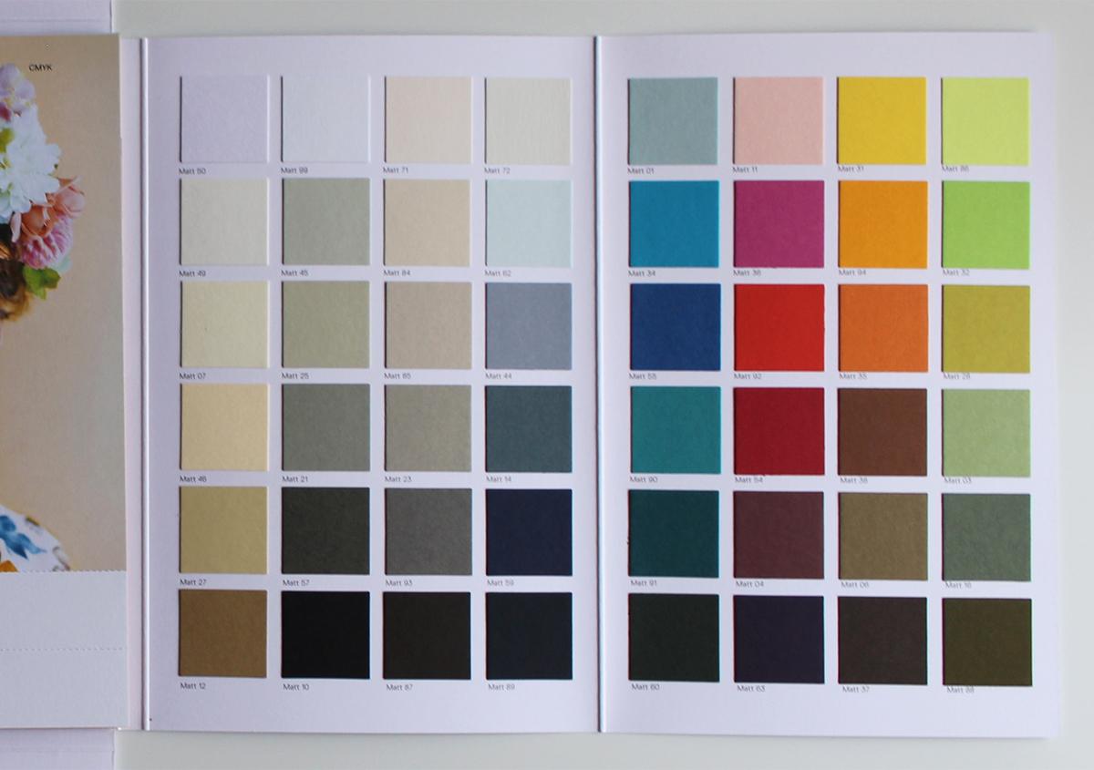 (写真7) | ファインペーパー「グムンドカラーマット-FS」の魅力 - 生田信一(ファーインク) | 活版印刷研究所