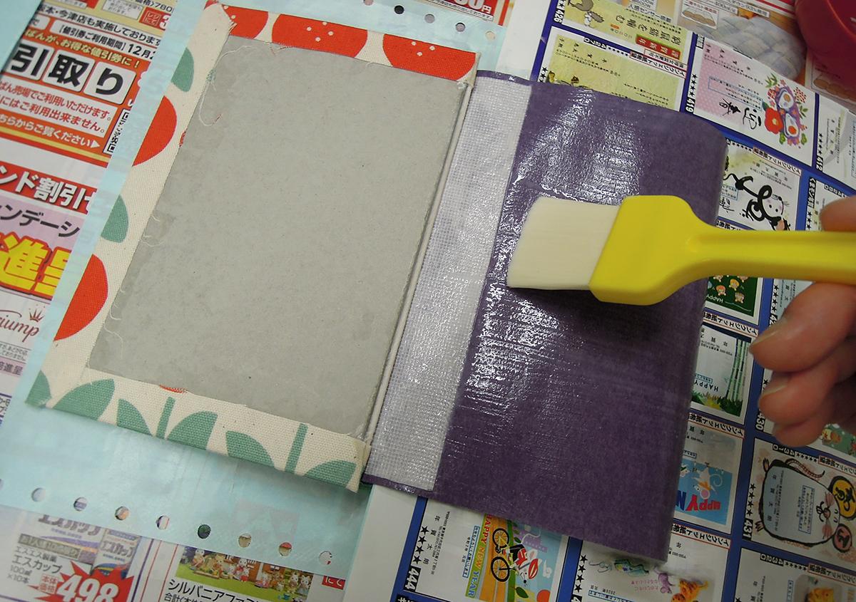 (写真7) | 文庫本の改装に挑戦!キットを使って。 - 京都大学図書館資料保存ワークショップ | 活版印刷研究所
