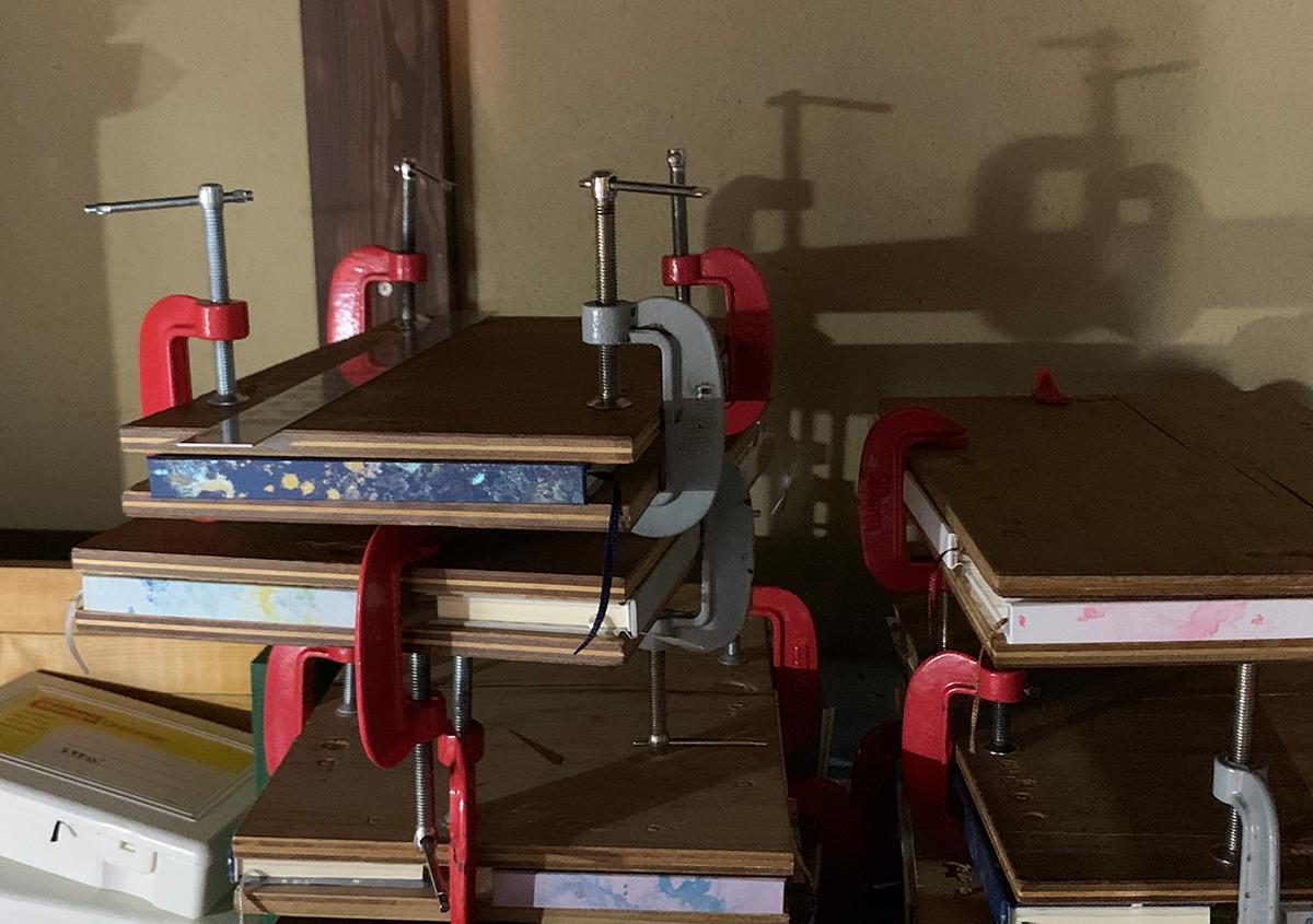 (写真5) | 物語が生まれる「白紙の本」 手製本ノート すずめや - 白須美紀 | 活版印刷研究所