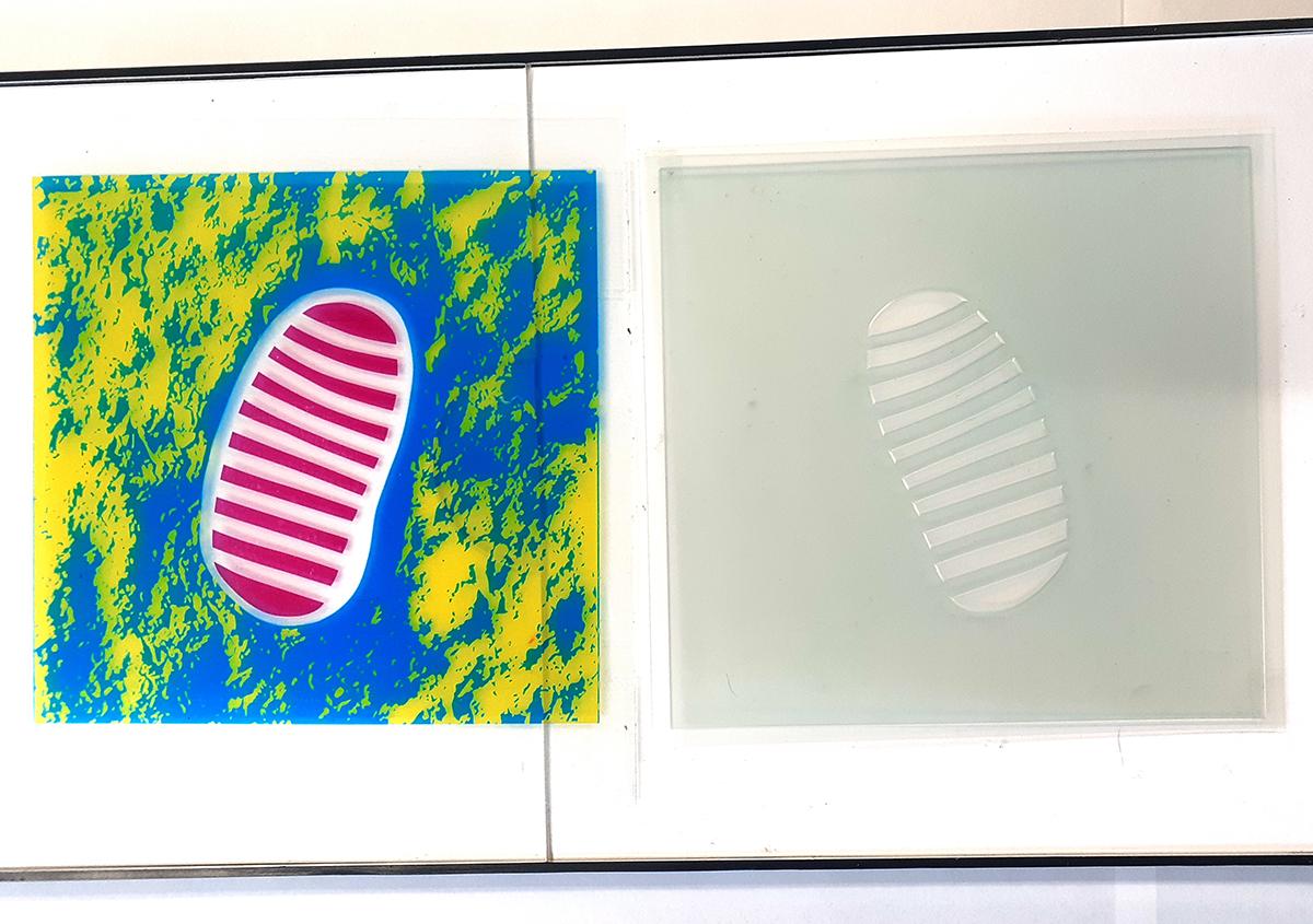 (写真2) | 足跡10 - (株)和光 | 活版印刷研究所