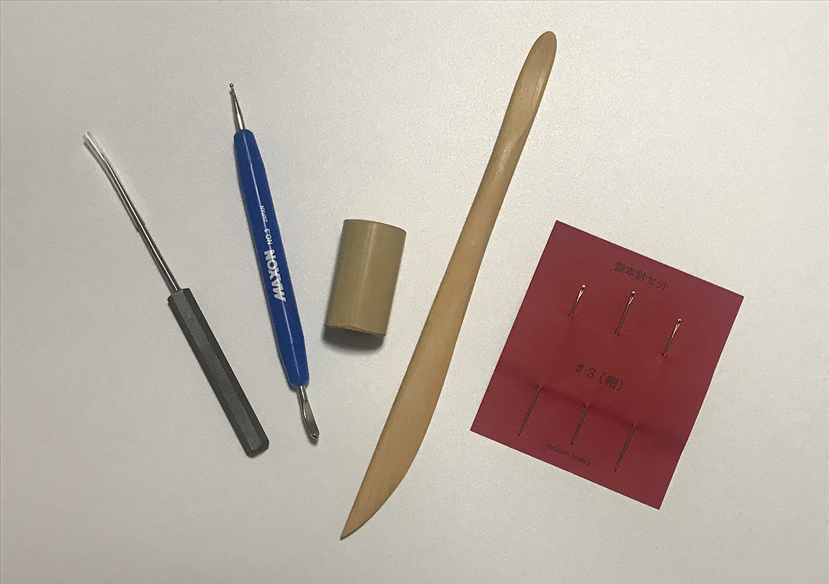 (写真19) | ZINE『MIZUHIKI ART BOOK』を手作り製本しました - 生田信一(ファーインク) | 活版印刷研究所