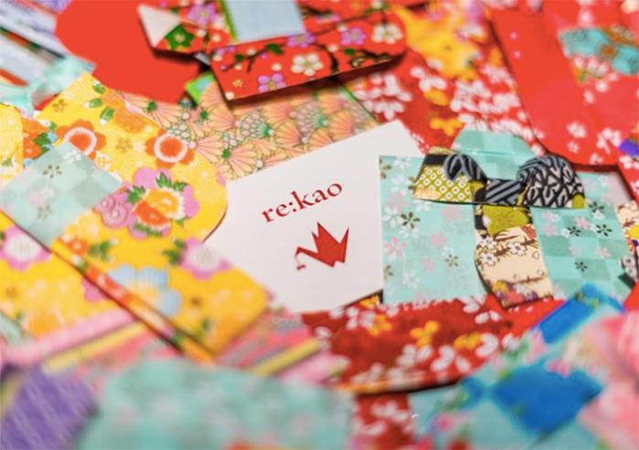(写真1) | 手染め友禅紙の魅力を伝えるために RE:KAO - 白須美紀 | 活版印刷研究所