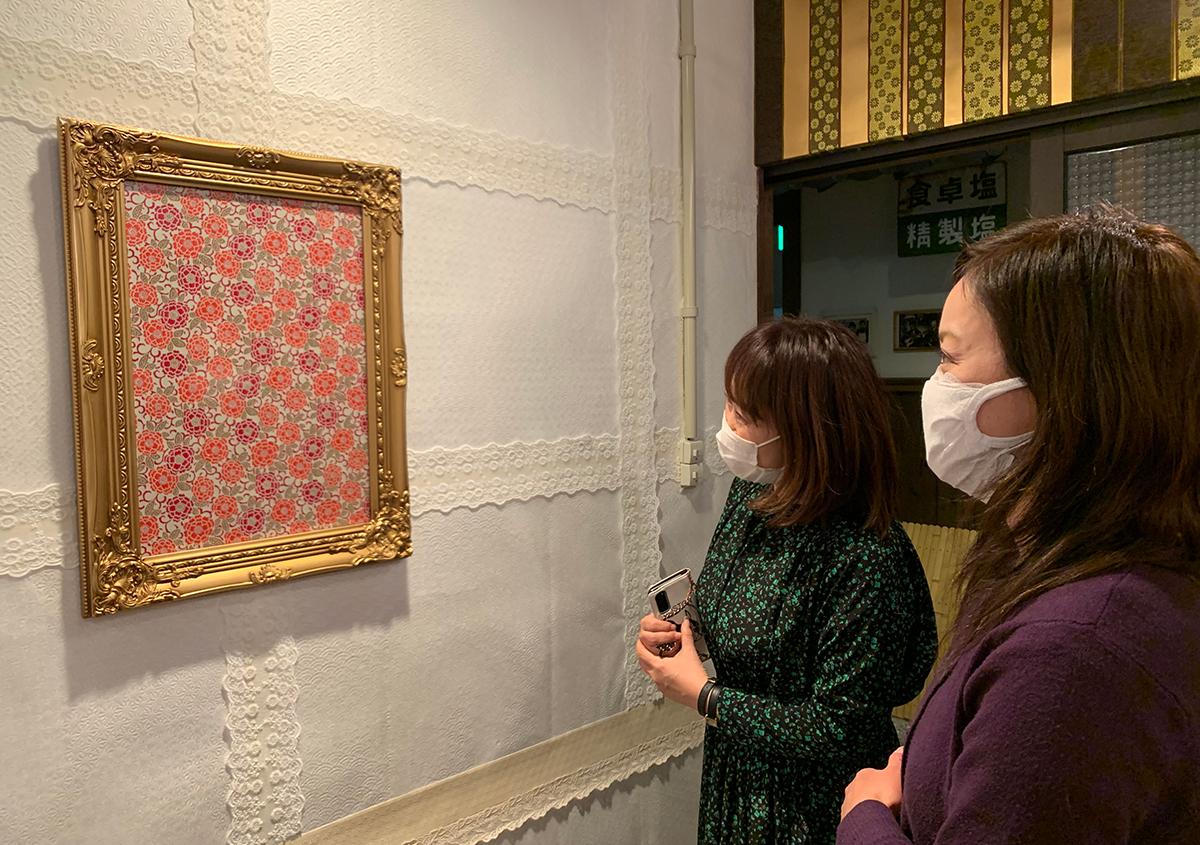 (写真6) | 手染め友禅紙の魅力を伝えるために RE:KAO - 白須美紀 | 活版印刷研究所