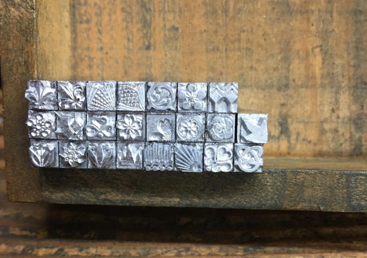 (写真10) | お家でワークショップ─金属活字を文具チックに使ってみたよ - 生田信一(ファーインク) | 活版印刷研究所