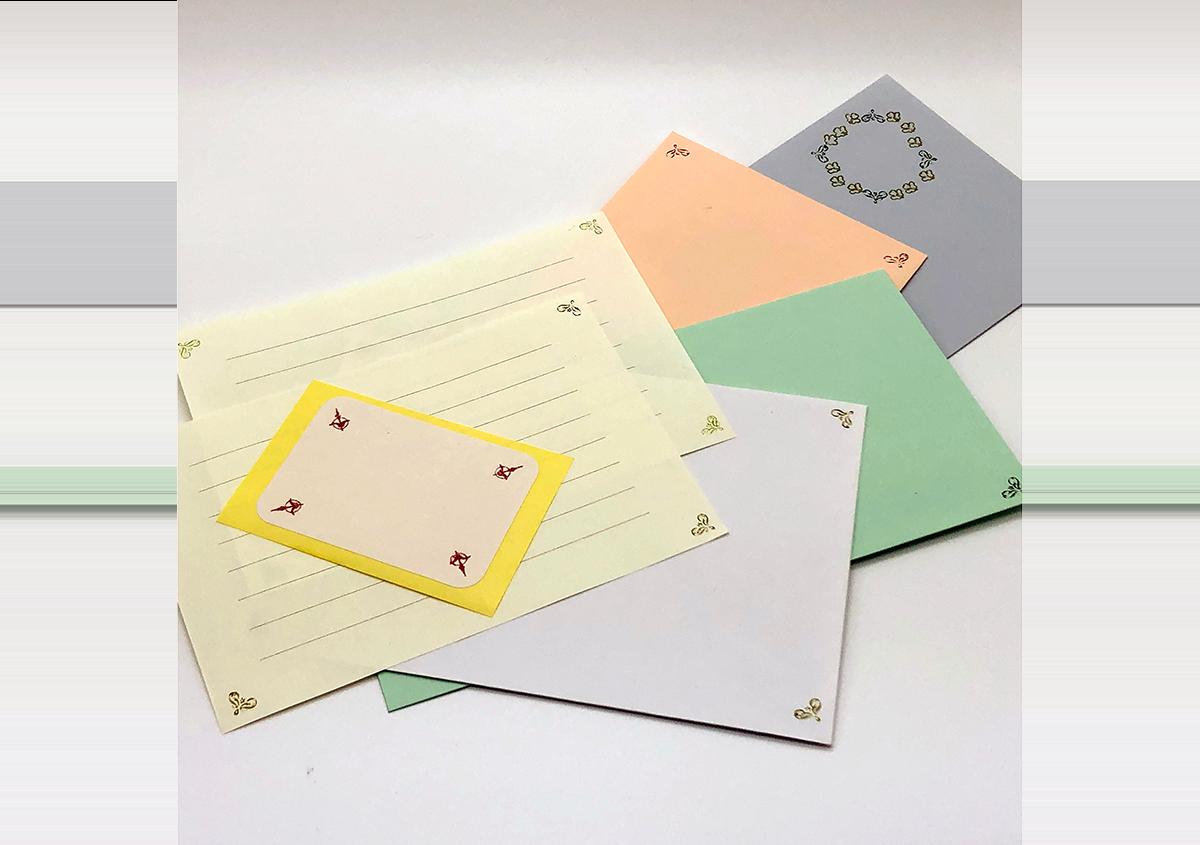 (写真15) | お家でワークショップ─金属活字を文具チックに使ってみたよ - 生田信一(ファーインク) | 活版印刷研究所