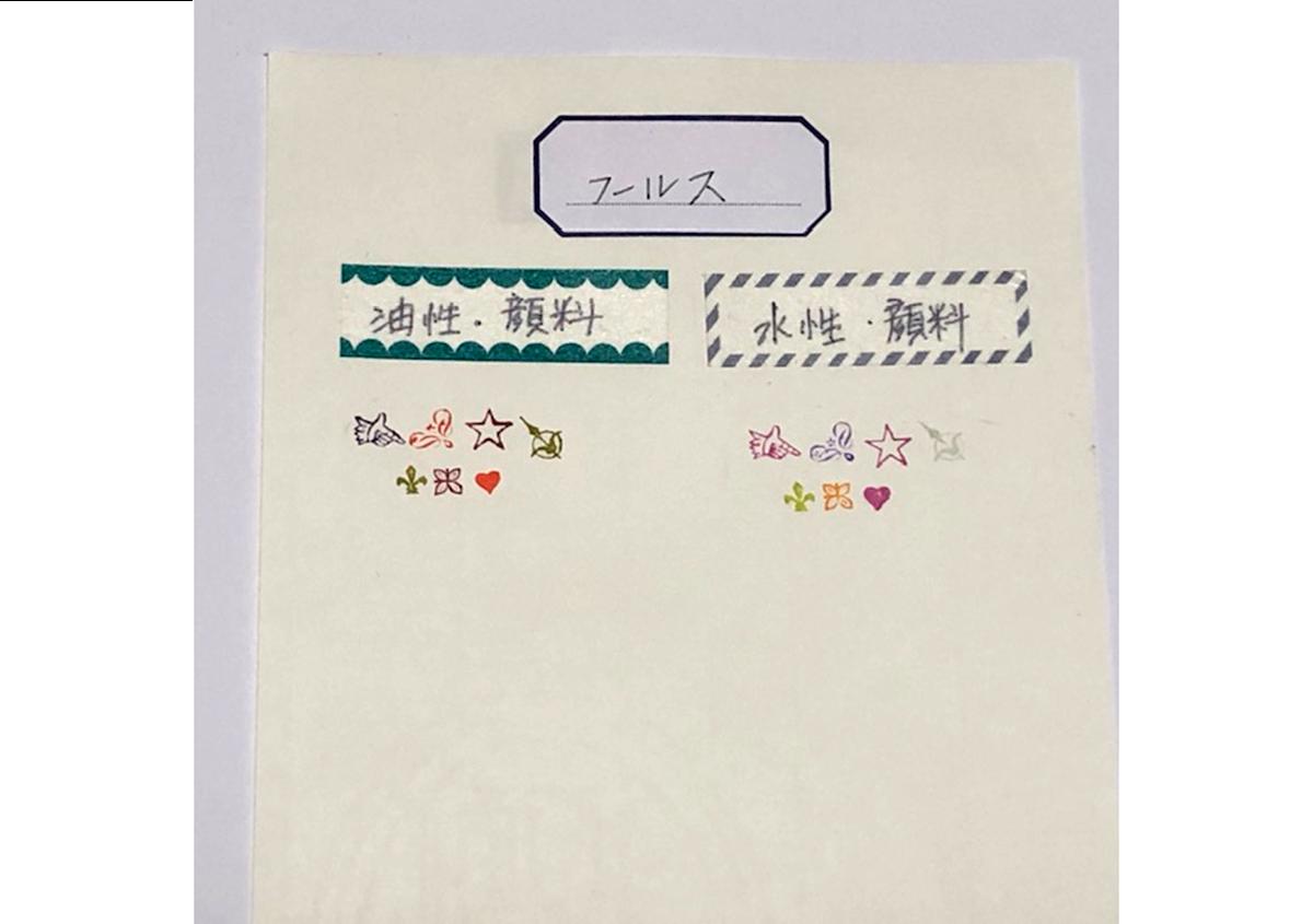 (写真16) | お家でワークショップ─金属活字を文具チックに使ってみたよ - 生田信一(ファーインク) | 活版印刷研究所