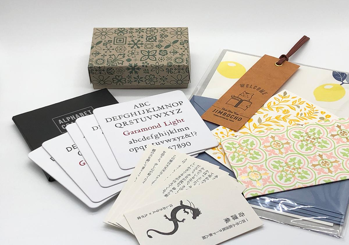 (写真3) | お家でワークショップ─金属活字を文具チックに使ってみたよ - 生田信一(ファーインク) | 活版印刷研究所