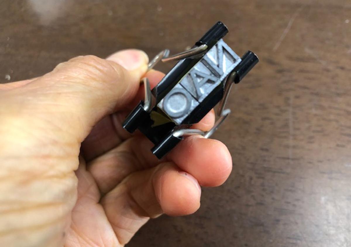 (写真6) | お家でワークショップ─金属活字を文具チックに使ってみたよ - 生田信一(ファーインク) | 活版印刷研究所