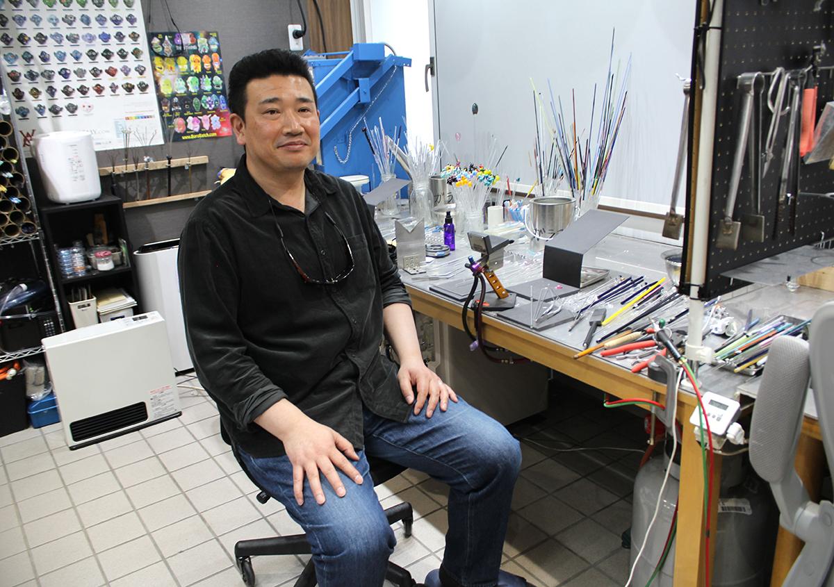(写真10) | ガラスペンの楽しみ─HASE硝子工房を訪ねる - 生田信一(ファーインク) | 活版印刷研究所