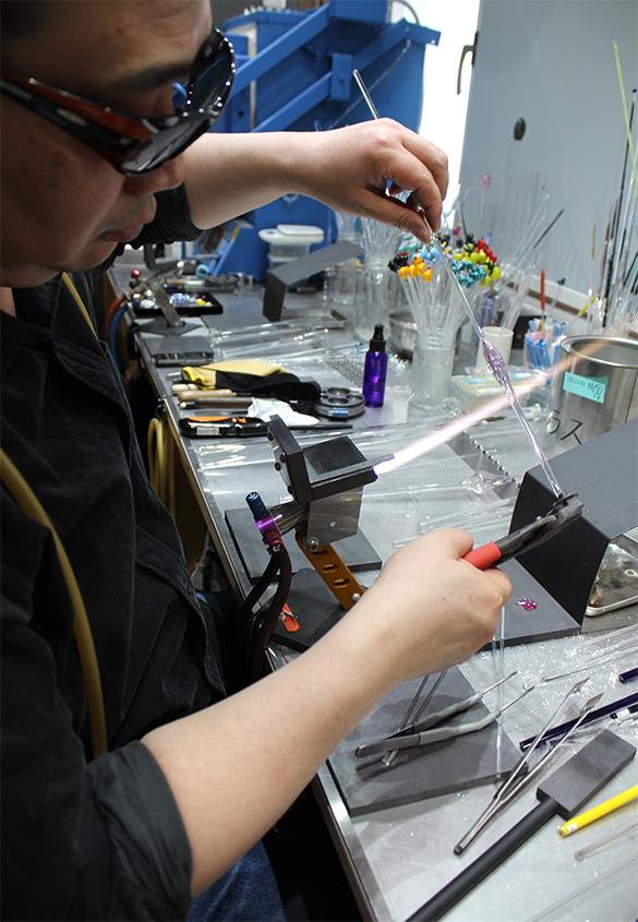 (写真12) | ガラスペンの楽しみ─HASE硝子工房を訪ねる - 生田信一(ファーインク) | 活版印刷研究所