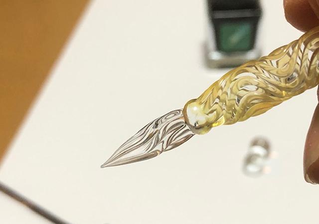 (写真13) | ガラスペンの楽しみ─HASE硝子工房を訪ねる - 生田信一(ファーインク) | 活版印刷研究所