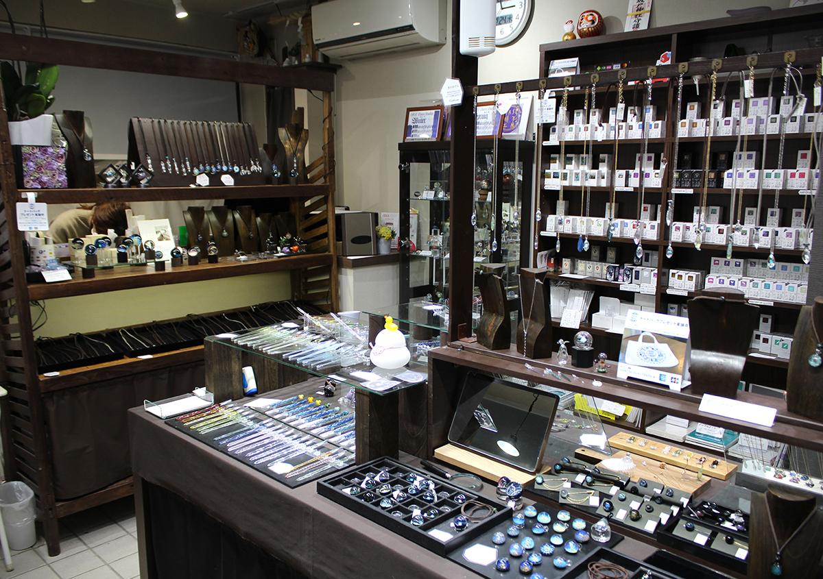 (写真2) | ガラスペンの楽しみ─HASE硝子工房を訪ねる - 生田信一(ファーインク) | 活版印刷研究所