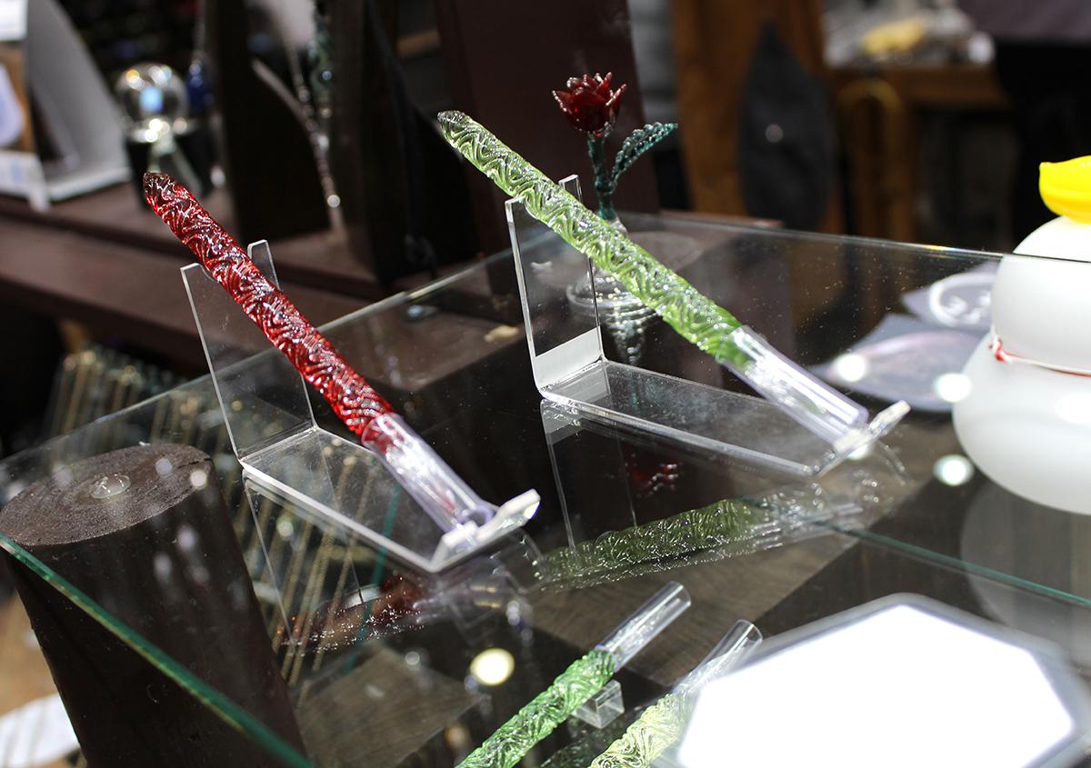 (写真7) | ガラスペンの楽しみ─HASE硝子工房を訪ねる - 生田信一(ファーインク) | 活版印刷研究所