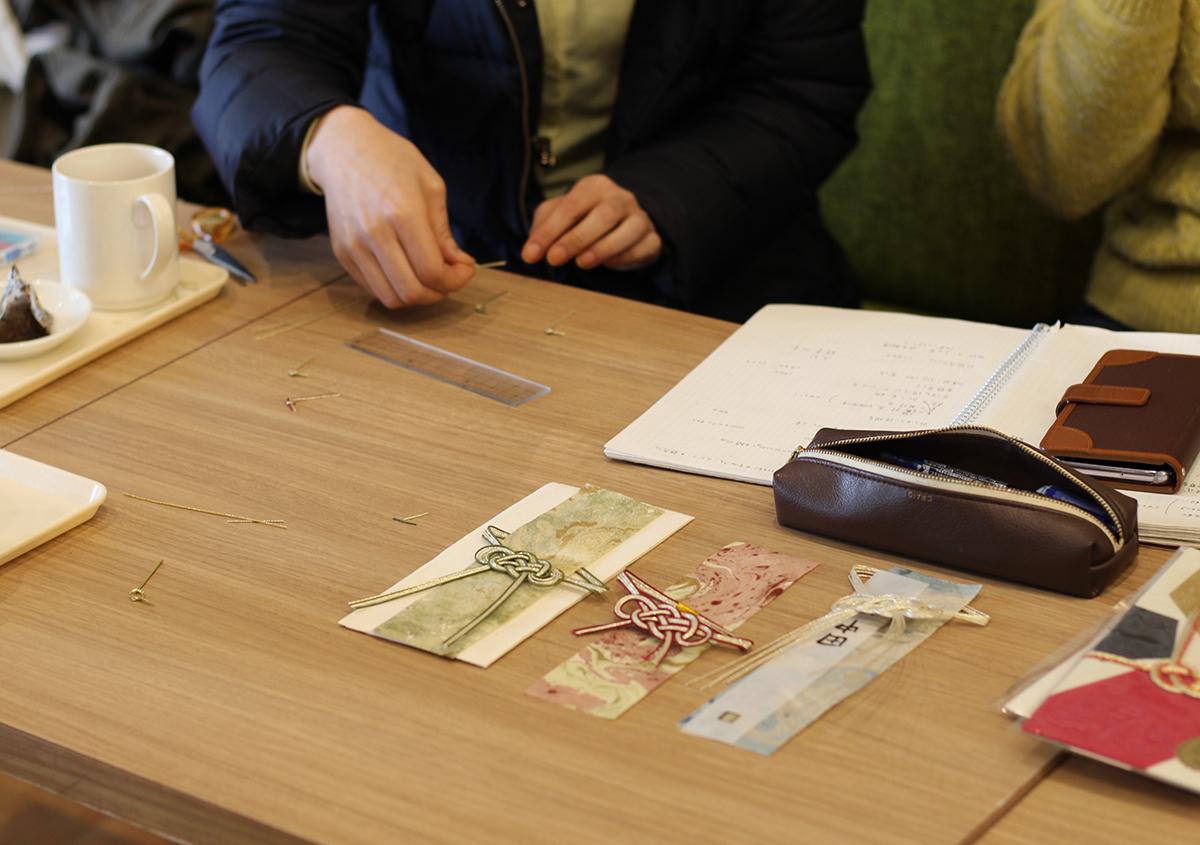 (写真6) | 愛媛の手仕事が結んだご祝儀袋 Like a letter - 白須美紀 | 活版印刷研究所