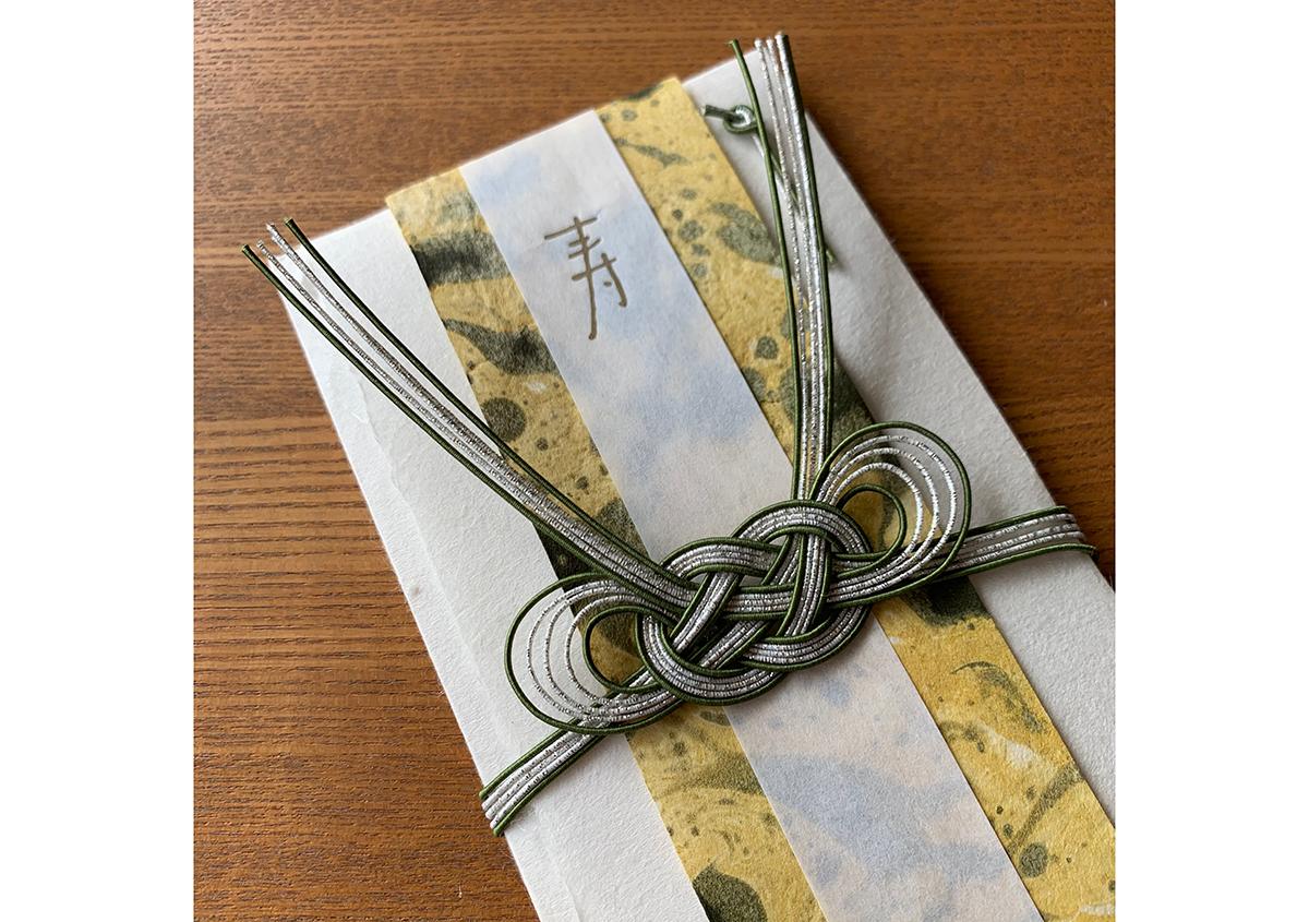 愛媛の手仕事が結んだご祝儀袋 Like a letter - 白須美紀 | 活版印刷研究所
