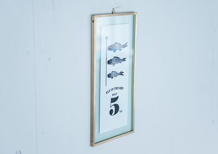 (写真10) | レタープレスポスター&フレーム─NECKTIE design office 千星健夫さんを訪ねて - 生田信一(ファーインク) | 活版印刷研究所