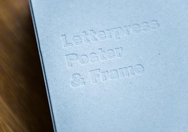 (写真14) | レタープレスポスター&フレーム─NECKTIE design office 千星健夫さんを訪ねて - 生田信一(ファーインク) | 活版印刷研究所