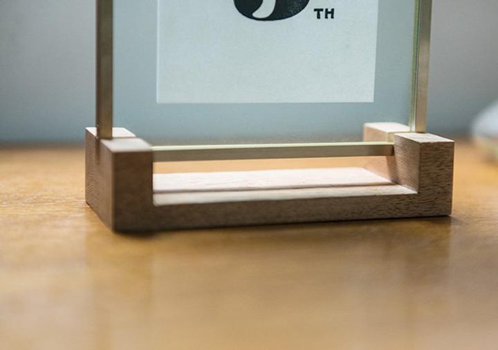 (写真6) | レタープレスポスター&フレーム─NECKTIE design office 千星健夫さんを訪ねて - 生田信一(ファーインク) | 活版印刷研究所