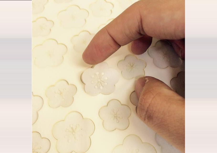 (写真26) | NECKTIE design office 千星健夫さんが作るクリエイティブな年賀状(前編) - 生田信一(ファーインク) | 活版印刷研究所