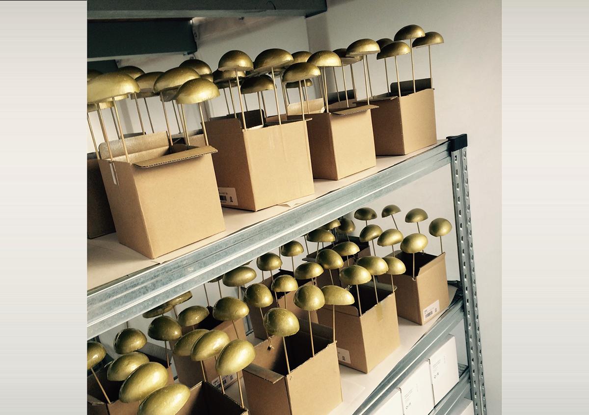 (写真44) | NECKTIE design office 千星健夫さんが作るクリエイティブな年賀状(前編) - 生田信一(ファーインク) | 活版印刷研究所