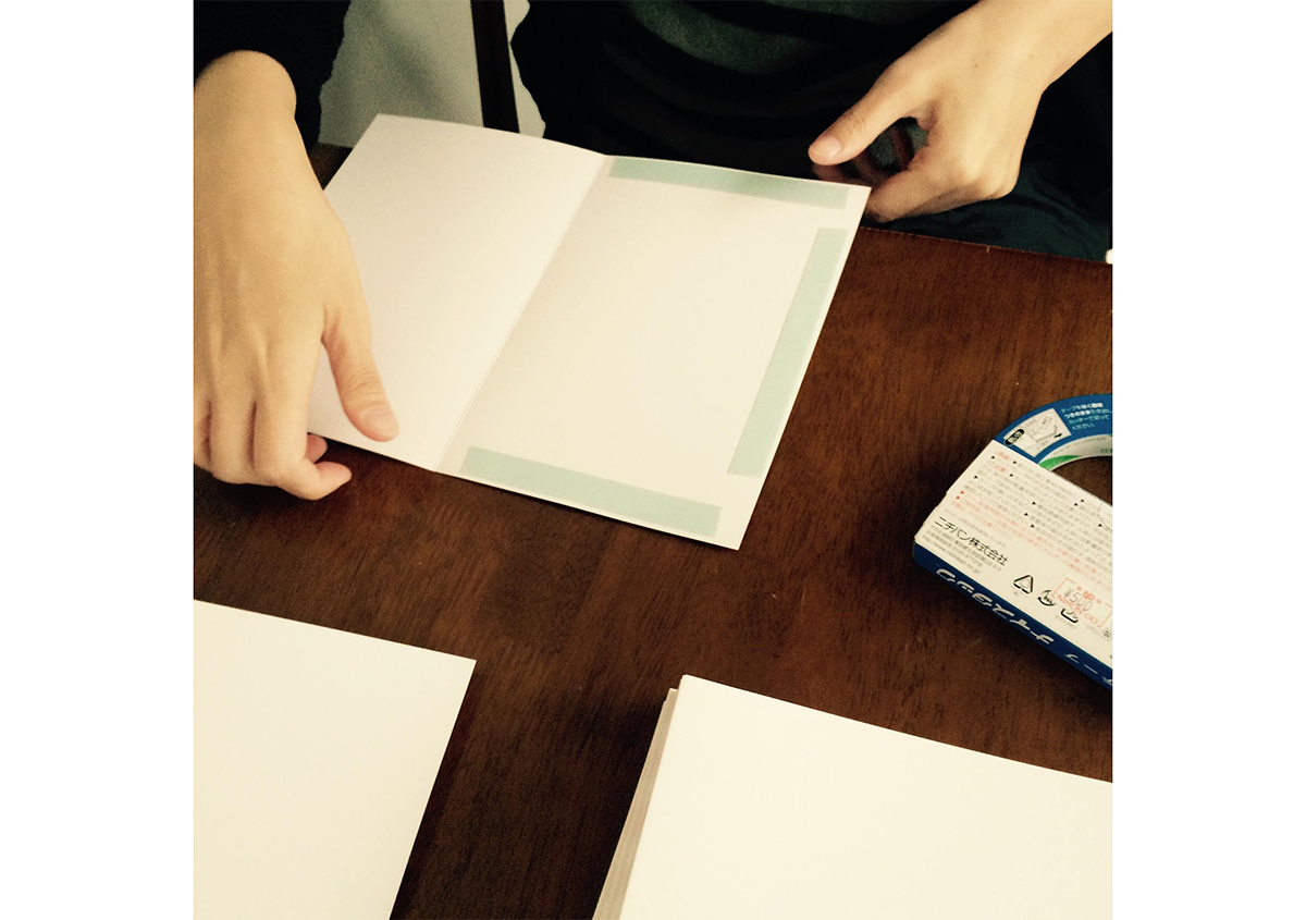 (写真46) | NECKTIE design office 千星健夫さんが作るクリエイティブな年賀状(前編) - 生田信一(ファーインク) | 活版印刷研究所