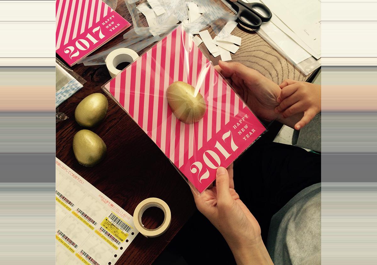 (写真49) | NECKTIE design office 千星健夫さんが作るクリエイティブな年賀状(前編) - 生田信一(ファーインク) | 活版印刷研究所