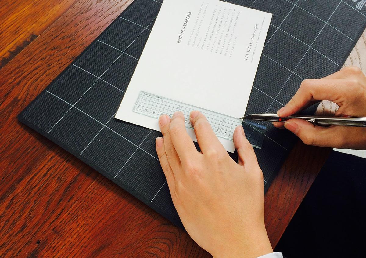 (写真25)   NECKTIE design office 千星健夫さんが作るクリエイティブな年賀状(中編) - 生田信一(ファーインク)   活版印刷研究所